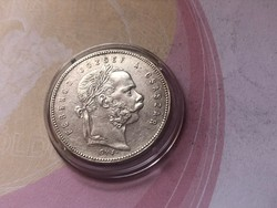 1868 GY.F. ezüst 1 forint .szép darab,ritka!