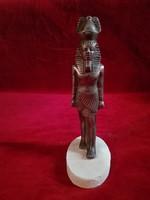 Szobor - Níkkelezett, réz szobor