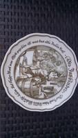 LEÁRAZTAM!  Német  HUTSCHENREUTHER EXCLUSIV logós tányér