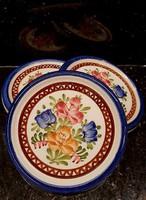 Osztrák kézzel festett kis tányér, kínáló