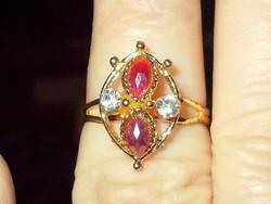 Turmalin Csepp  Drágaköves Arany b.Gyűrű