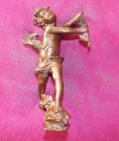 P.L.Kowalczewski-1865-1910-Puttó bőségszaruval-bronz