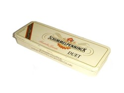 Schimmelpenninck Duet fém doboz, Panatellas Grandes 10 Cigars