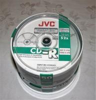 JVC bontatlan írható CD 50 darab