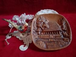 Kerámia fali tányér, ajándékba kérhető 10000 ft -feletti vásárlás esetén