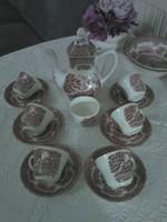 """Angol """" Grindley"""" kávés teás készlet"""