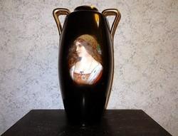 Szecessziós váza Bécs jelzett