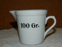 Zsolnay 100 Gr. patikai edény.