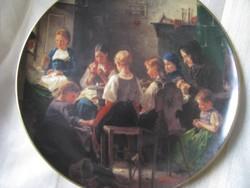 Hutschenreuther porcelán dísztányér