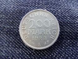 Weimari Köztársaság 200 Márka 1923 A