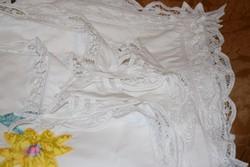 Ritka Csodás csipkés ágynemű garnitúra pár