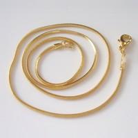 Aranyozott nyaklánc ABÜL 05 43cm