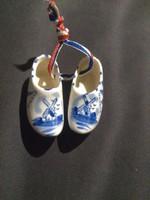 Holland porcelán papucs