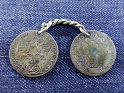 I. Ferenc és Mária Terézia ezüst 20 krajcárosai