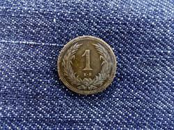 1 fillér 1901