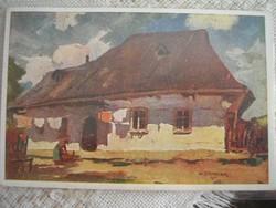 Náci bélyegzős 3-db színes képeslapok ritkaság gyűjteményből -gyüjteménybe