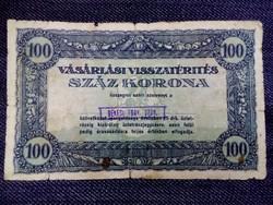 Vásárlási visszatérítés 100 Korona /4075/