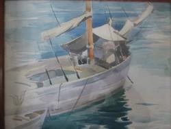 Pataky Ferenc akvarell