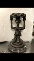 Eladó bronz szoborka