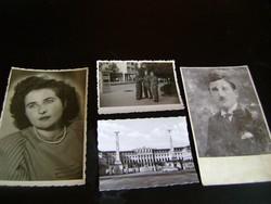 4 db régi fotó olcsón