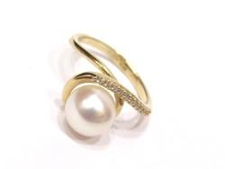 Arany női gyűrű (Szeg-Au76801)