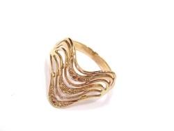 Arany női gyűrű( Szeg-Au76951)
