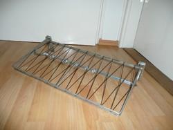 63 cm Diósy János féle ritka hálós Art Deco alumínium fali fogas eladó
