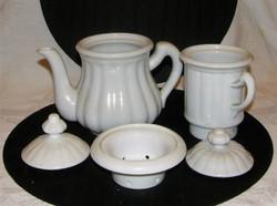 Régi Zsolnay porcelán tea, kávé forraló