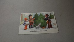 Régi karácsonyi képeslap 1942
