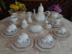 Villeroy & Boch , Gallo Galerie de Porcelaine Leonardo decor csodálatos teás reggeliző készlet