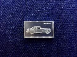 Lincoln 1941 autós ezüst lapka