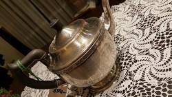 Ezüstözött teáskanna