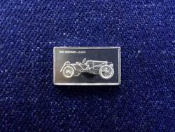 Hispano-Suiza 1912 autós ezüst lapka