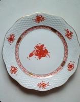 Herendi Apponyi mintás lapos tányér