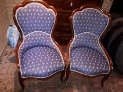 Neobarokk fotelek párban