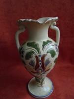 Kunszentmártoni Bozsik féle jelzett kerámia váza