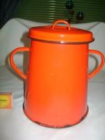 Régi, Bonyhád jelzésű zsíros bödön - két literes