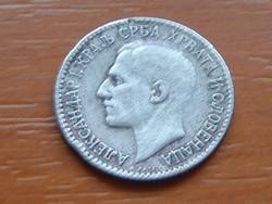 SZERB-HORVÁT-SZLOVÉN KIRÁLYSÁG 1 DINÁR 1925