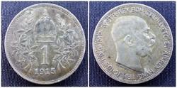 Ferenc József ezüst 1 Korona 1915