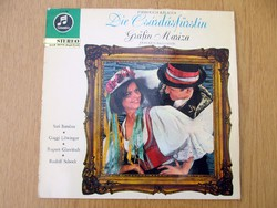 RITKASÁG - Emmerich Kálmán - Die Csárdásfürstin / A csárdáskirálynő - 1966, németül magyaroktól (LP)