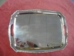 Ezüst tálca 33,5 × 46,5 cm