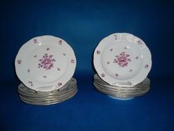 Herendi Nanking bouquet 6sz 12 db tányér Garnitúra