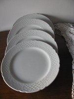 4 db Bavaria lapos tányér