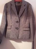 Vintage   Only kockás női blézer,kis kabát