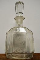Zwack likőrös üveg