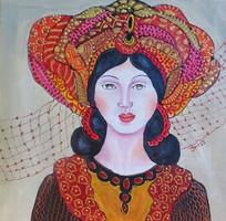 Az IKON képek kedvelőinek IRISZ festmény