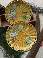 Villeroy&Boch jelzett majolika tányér 4db 16.5cm átm