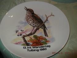 Csodaszép madaras tányér 19 cm