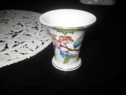 Herendi régi kis váza  5 x 5 cm  hibátlan