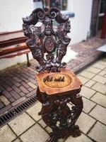 """Nagyon régi,antik """"Sgabello""""Olasz reneszánsz szék."""